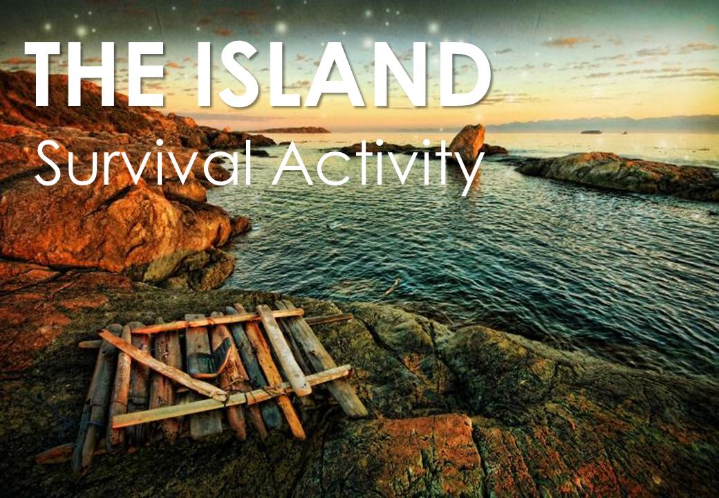 Team Building-Adventure Team-The Island