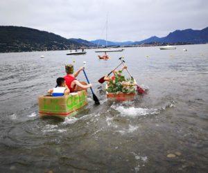 Team Building - Crazy For Team - Carton Boat