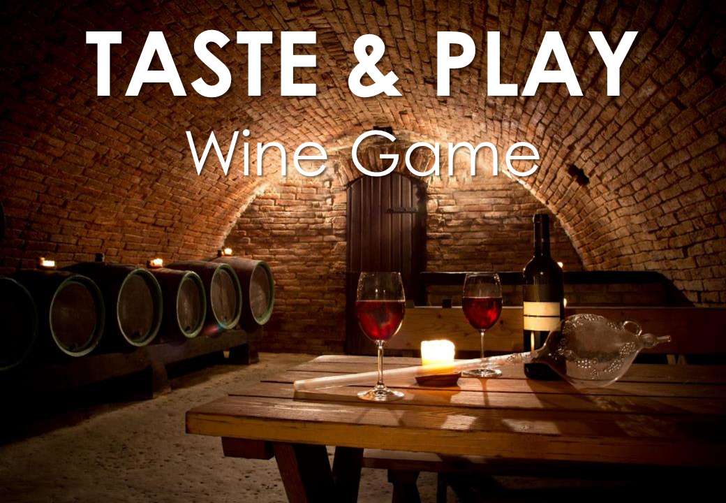 Team Building - Crazy For Team - Taste & Play Wine Game