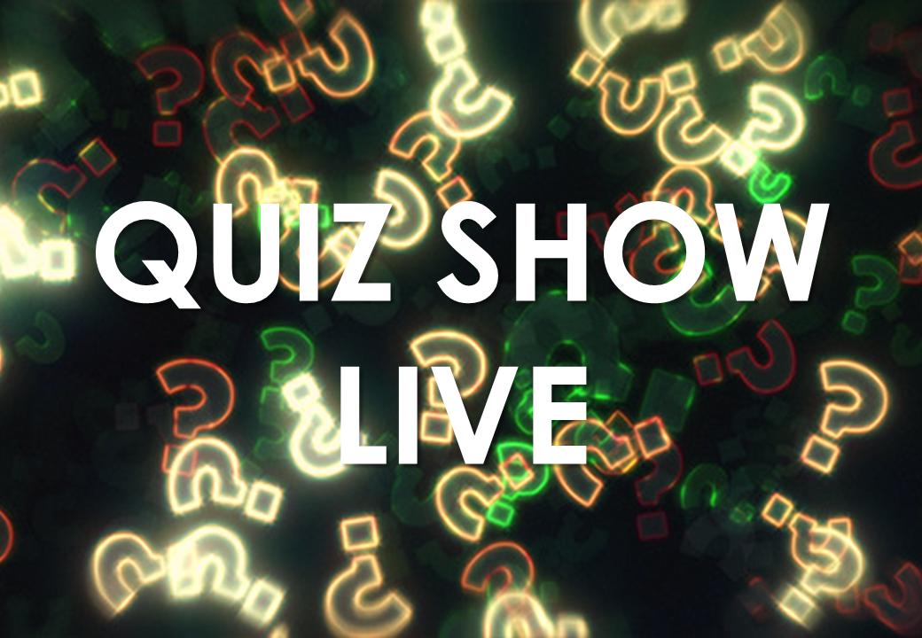 Team Building - Funny Dinner - Quiz Show Live