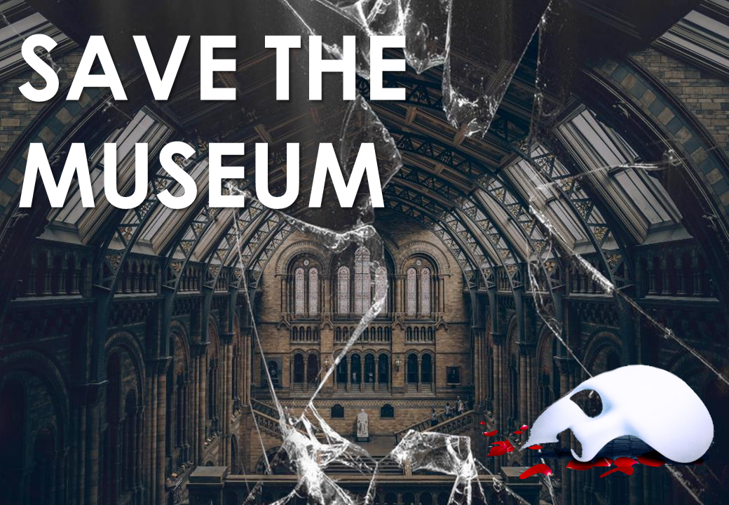 Team Building - Thrilling & Suspense - Save The Museum