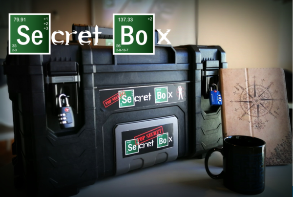 Team Building - Thrilling & Suspense - Secret Box
