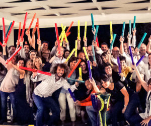 Team Building - Trick convention - Boomwhackers - Tubi Sonori