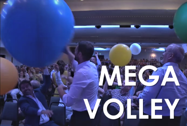 Team Building - Trick convention - Mega Volley - Big Baloon