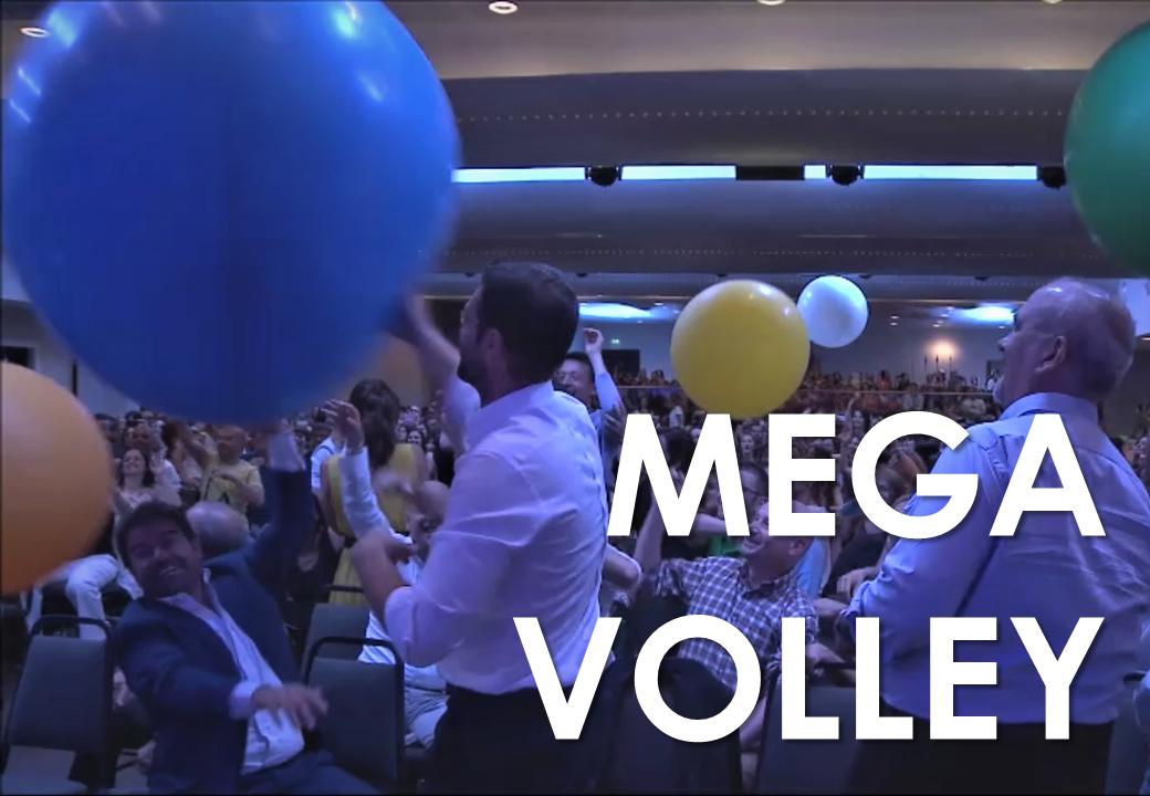 Team Building - Trick convention - Mega Volley - Big Baloon