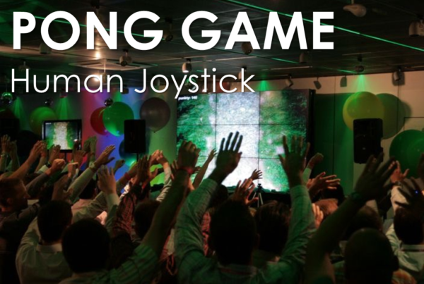 Team Building - Trick per convention - Human Joystick