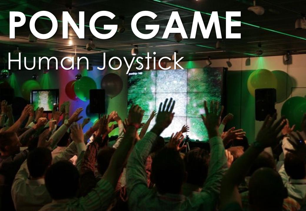 Team Building - Trick per convention - Human Joystick